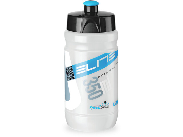 Elite Kit Ceo Bidon & Bidonhouder 350ml, black/blue
